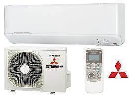 Spilt system air conditioning installation in Brisbane